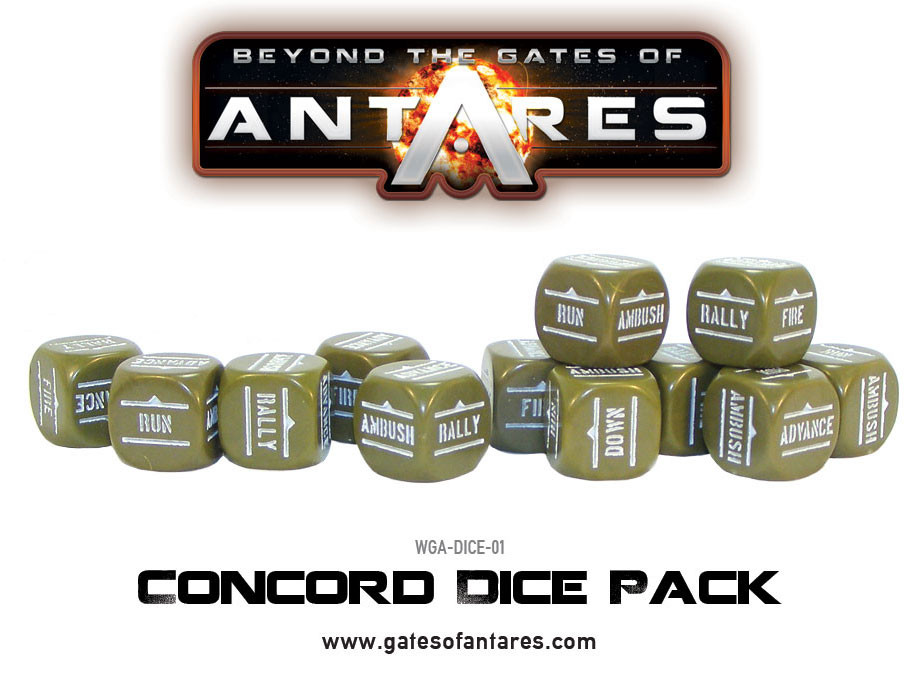 Concord Order Dice Pack