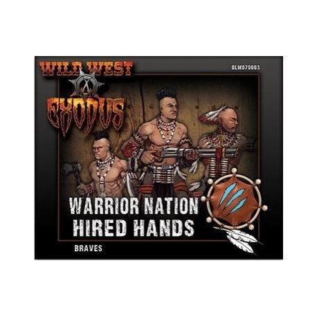 Warrior Nation Hired Hands Braves Box